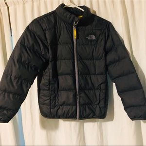 Boys North Face Down Coat-Fits S/M